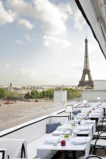 Terrazza ristorante a Parigi